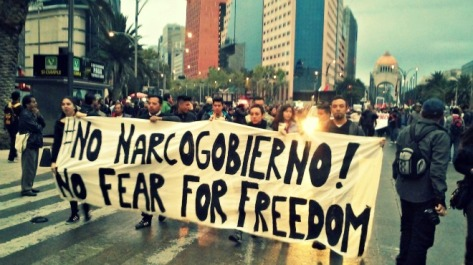 todos somos ayotzinapaDCA