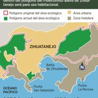 Amenaza urbanismo área de Zihuatanejo