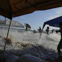 Mar de Fondo, en48 horas se espera que el efecto empiece a disminuir