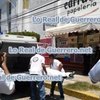 """Una mujer es ejecutada en la papelería """"Carrusel"""" en Costa Azul"""