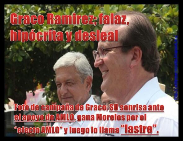 La demagogia de Graco Ramírez al servicio de Peña Nieto