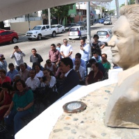 Conmemoran en Acapulco 16 años del fallecimiento de Pablo Sandoval Ramírez