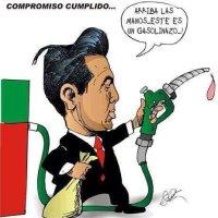 Peña Nieto recibirá el año nuevo con sus gasolinazos en #Acapulco