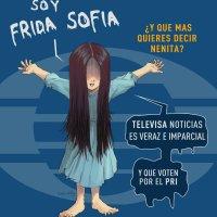 """Televisa y Gobierno repiten la historia de """"Monchito"""" con """"Frida Sofia"""" 32 años después"""