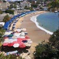 #Acapulco, el puerto turístico está golpeado por el coronavirus.
