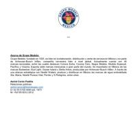 Grupo Modelo suspenderá producción y comercialización de cerveza por emergencia sanitaria