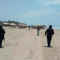 Ignoran cierre de playas en la Zona Diamante de #Acapulco